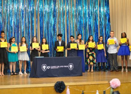 8th Grade Stepping Up Ceremony